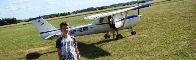 Zajęcia w Aeroklubie Słupskim